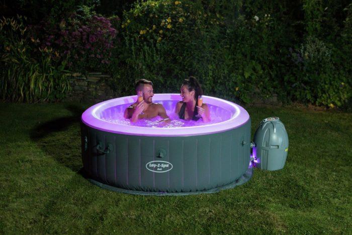 Bali Prestige Spa Parties Led Hot Tub