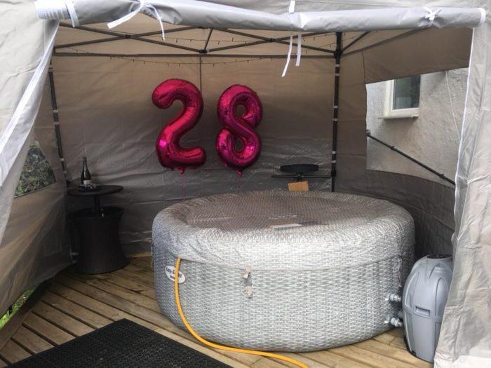 Hot Tub Party Prestige Spas Wrexham Oswestry Chester