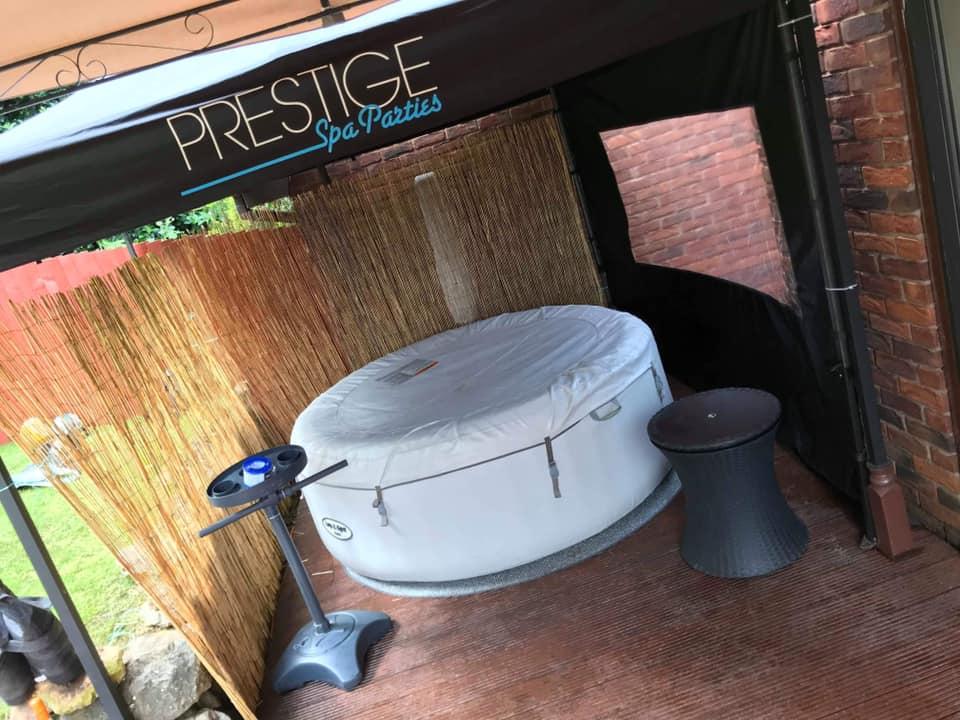 Prestige Spas Hot Tub Parties